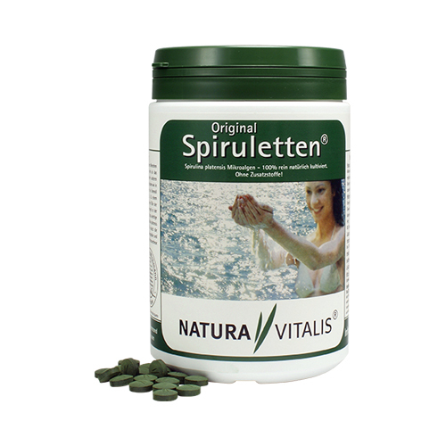 Spirulina (1500 szt.) - odkrycie żywnościowe XXI wieku