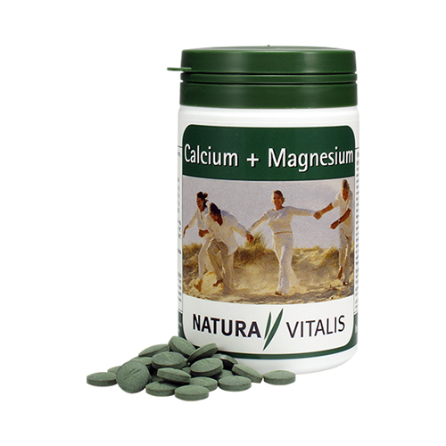 Spirulina + Wapń + Magnez - dla kości, mięśni i serca [400 szt.]